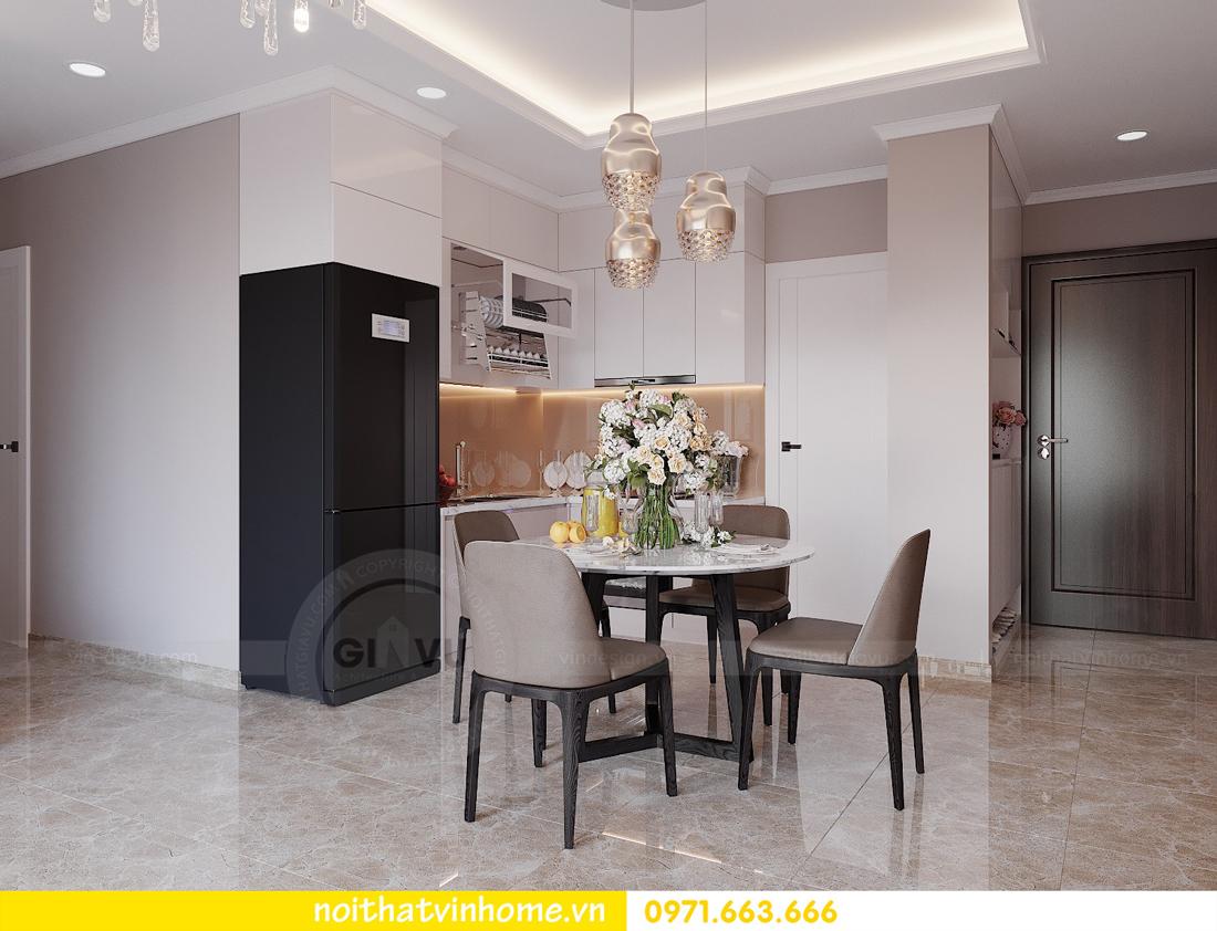 thiết kế nội thất chung cư đẹp tại tòa C1 căn 10 D Capitale anh Tuyên 02