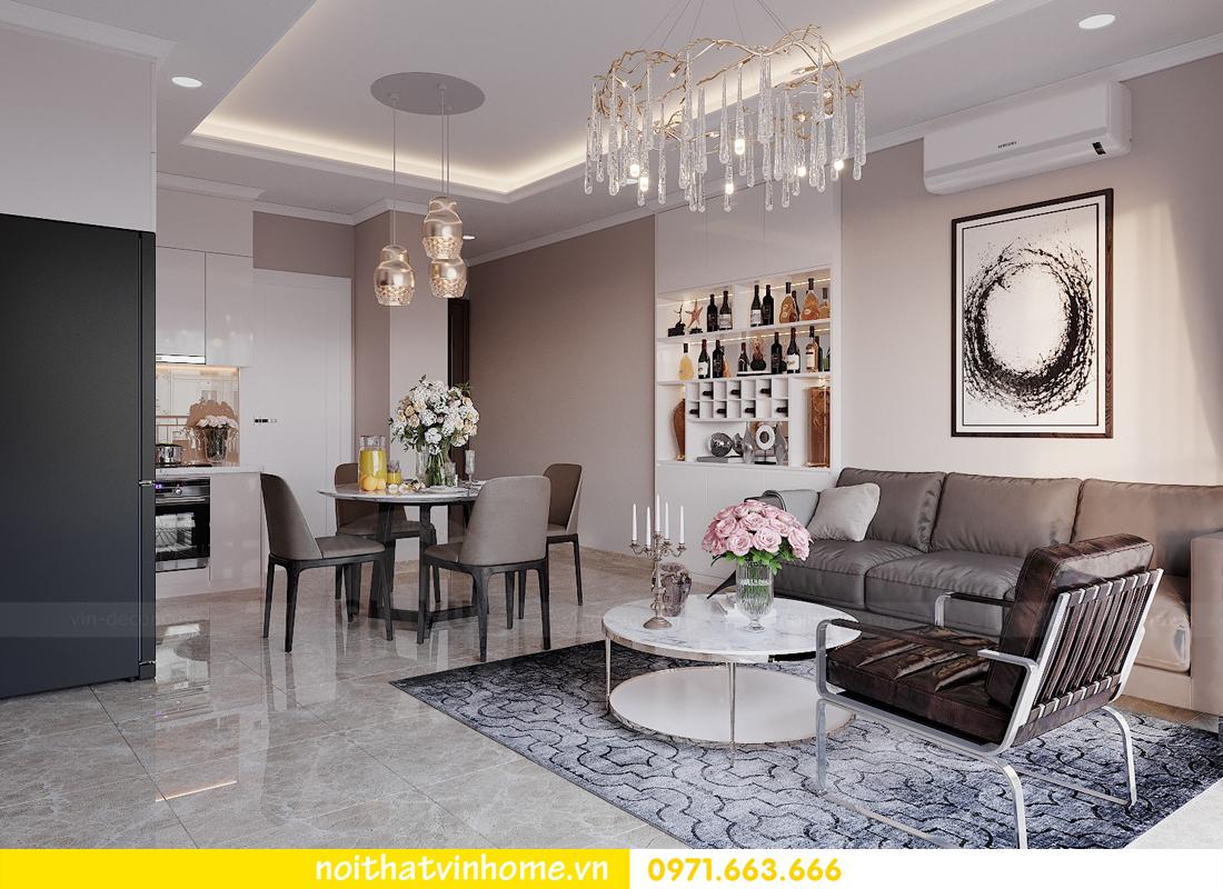 thiết kế nội thất chung cư đẹp tại tòa C1 căn 10 D Capitale anh Tuyên 03