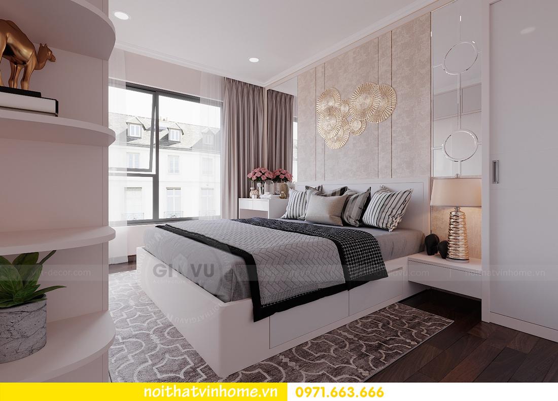 thiết kế nội thất chung cư đẹp tại tòa C1 căn 10 D Capitale anh Tuyên 09