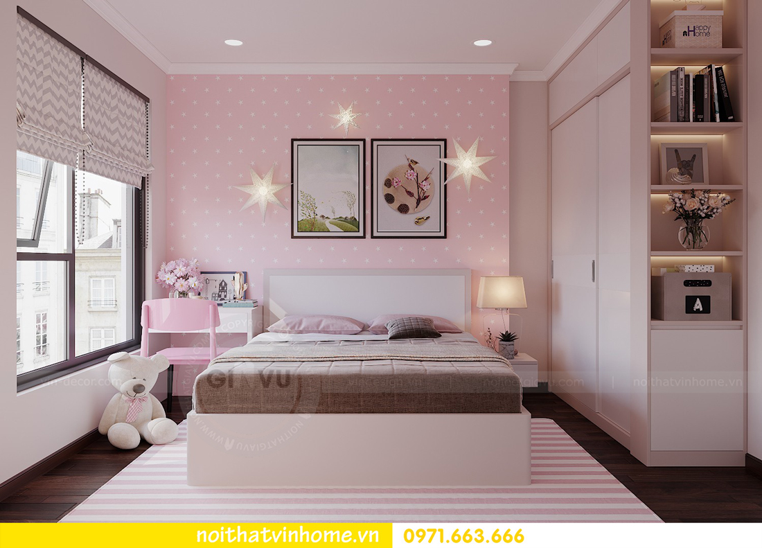 thiết kế nội thất chung cư đẹp tại tòa C1 căn 10 D Capitale anh Tuyên 13