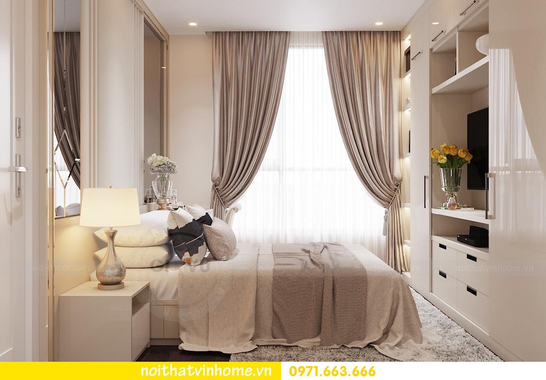 thiết kế nội thất chung cư hiện đại tòa C1 căn 10 Vinhomes D Capitale 05