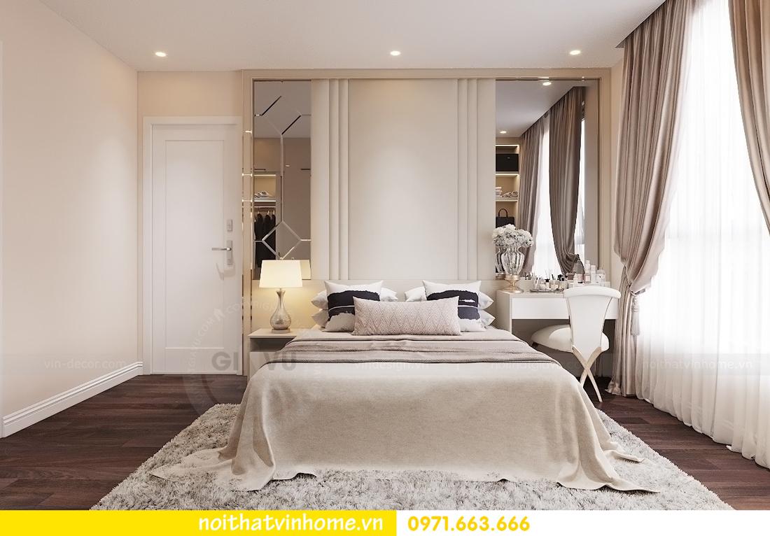 thiết kế nội thất chung cư hiện đại tòa C1 căn 10 Vinhomes D Capitale 06