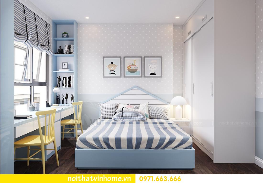 thiết kế nội thất chung cư hiện đại tòa C1 căn 10 Vinhomes D Capitale 07