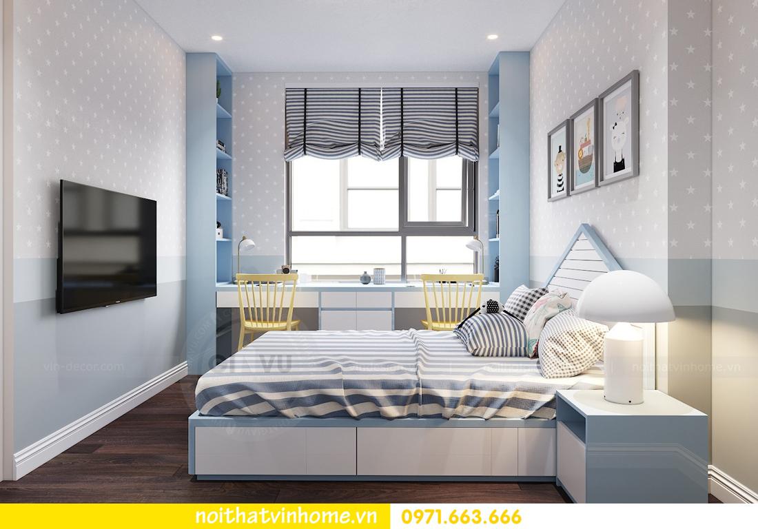 thiết kế nội thất chung cư hiện đại tòa C1 căn 10 Vinhomes D Capitale 08