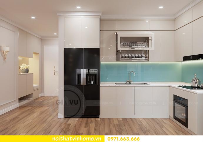 thiết kế nội thất chung cư Metropolis tòa M1 căn 05 chị Lan 02