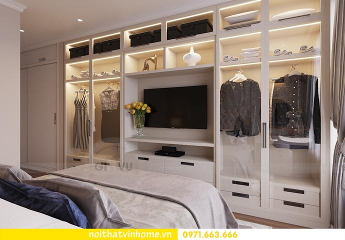 thiết kế nội thất chung cư Metropolis tòa M1 căn 05 chị Lan 07