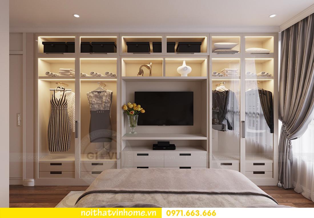 thiết kế nội thất chung cư Metropolis tòa M1 căn 05 chị Lan 08