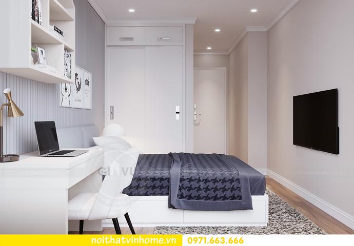 thiết kế nội thất chung cư Metropolis tòa M1 căn 05 chị Lan 09
