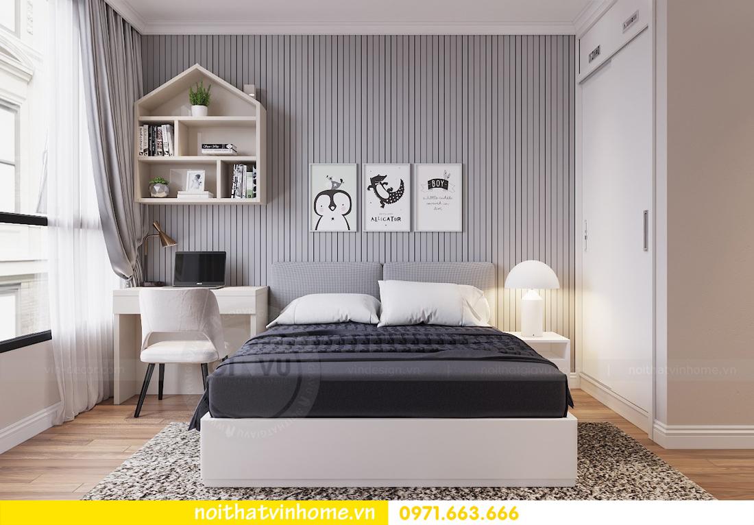 thiết kế nội thất chung cư Metropolis tòa M1 căn 05 chị Lan 10
