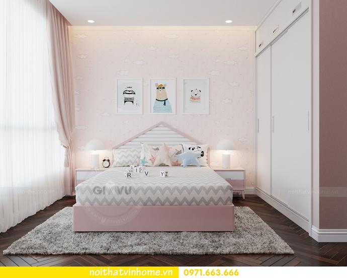 thiết kế nội thất Vinhomes Liễu Giai tòa M3 căn 02 chị Thơm 09