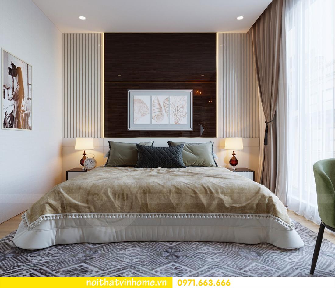 thiết kế thi công nội thất gỗ óc chó tòa M2 căn 11 chung cư Metropolis chú Bình 10