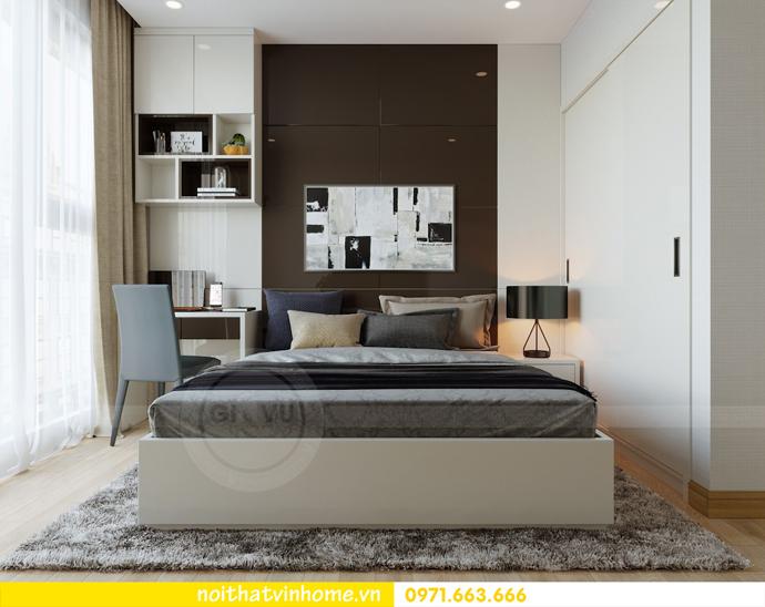 thiết kế thi công nội thất gỗ óc chó tòa M2 căn 11 chung cư Metropolis chú Bình 12