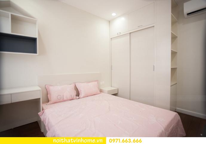 thi công hoàn thiện nội thất thực tế chung cư Vinhomes D Capitale 12