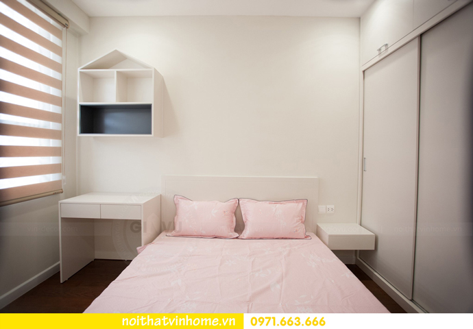 thi công hoàn thiện nội thất thực tế chung cư Vinhomes D Capitale 14