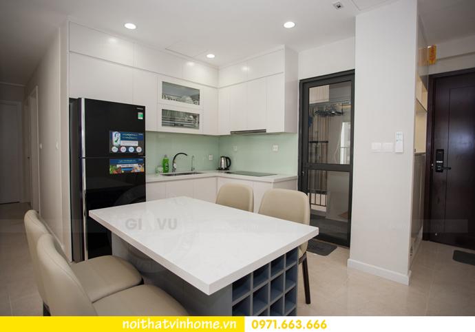 thi công hoàn thiện nội thất thực tế chung cư Vinhomes D Capitale 2