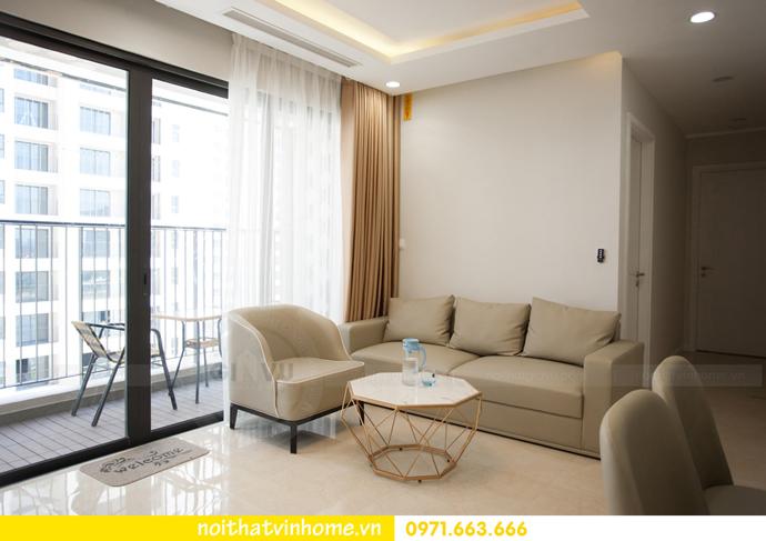 thi công hoàn thiện nội thất thực tế chung cư Vinhomes D Capitale 3