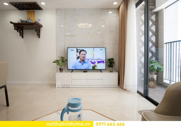 thi công hoàn thiện nội thất thực tế chung cư Vinhomes D Capitale 4