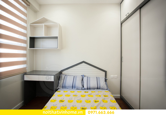 thi công hoàn thiện nội thất thực tế chung cư Vinhomes D Capitale 9