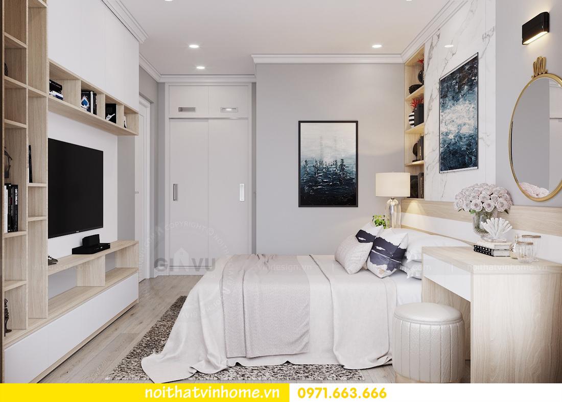thiết kế hoàn thiện nội thất chung cư Park Hill 10 căn 02 nhà anh Tâm 07