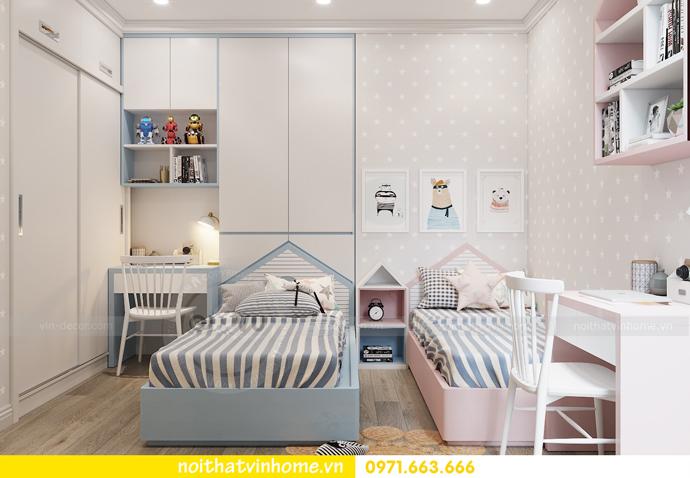 thiết kế hoàn thiện nội thất chung cư Park Hill 10 căn 02 nhà anh Tâm 08