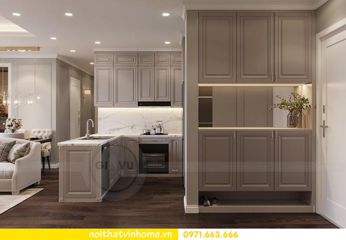 thiết kế nội thất căn hộ 80m2 tại Vinhomes D Capitale nhà chị Nguyệt 01