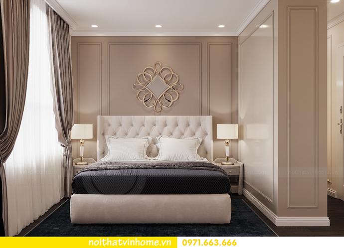 thiết kế nội thất căn hộ 80m2 tại Vinhomes D Capitale nhà chị Nguyệt 07