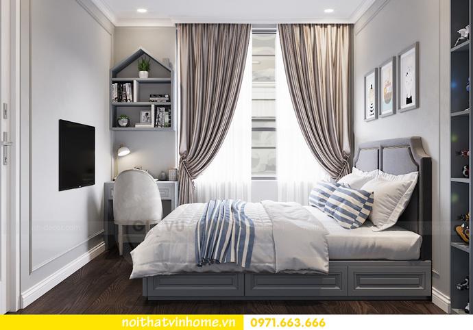 thiết kế nội thất căn hộ 80m2 tại Vinhomes D Capitale nhà chị Nguyệt 09