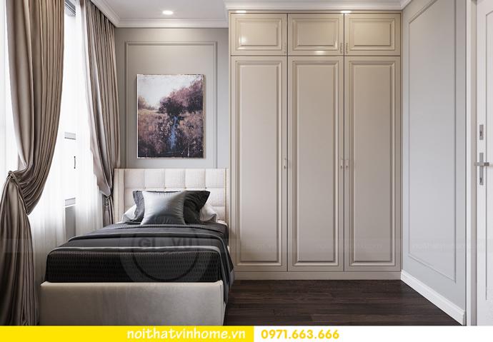 thiết kế nội thất căn hộ 80m2 tại Vinhomes D Capitale nhà chị Nguyệt 12
