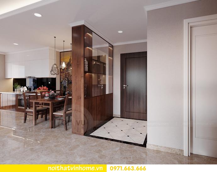 thiết kế nội thất căn hộ chung cư cao cấp tòa C304 Vinhomes DCapitale 1