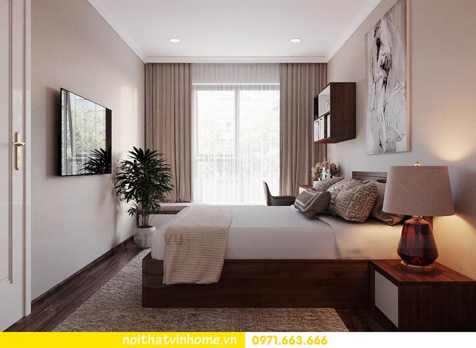 thiết kế nội thất căn hộ chung cư cao cấp tòa C304 Vinhomes DCapitale 11