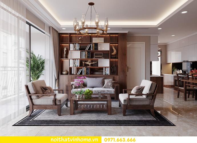 thiết kế nội thất căn hộ chung cư cao cấp tòa C304 Vinhomes DCapitale 4