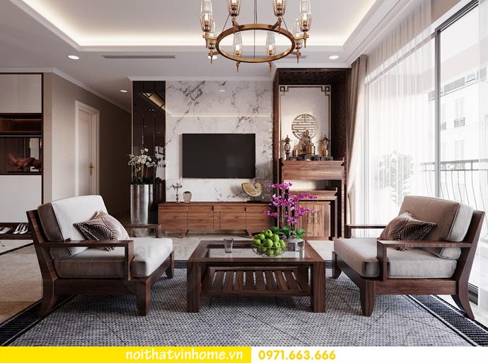 thiết kế nội thất căn hộ chung cư cao cấp tòa C304 Vinhomes DCapitale 5