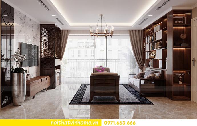 thiết kế nội thất căn hộ chung cư cao cấp tòa C304 Vinhomes DCapitale 6