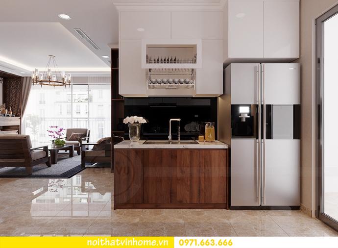 thiết kế nội thất căn hộ chung cư cao cấp tòa C304 Vinhomes DCapitale 7