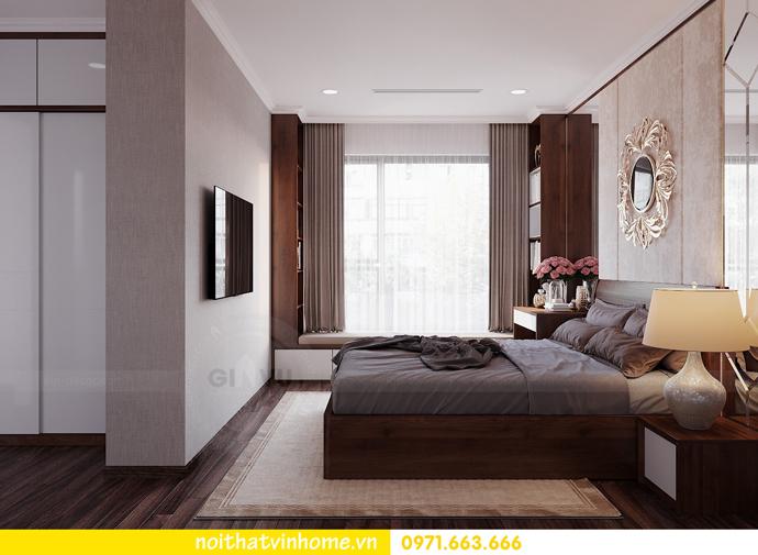 thiết kế nội thất căn hộ chung cư cao cấp tòa C304 Vinhomes DCapitale 9