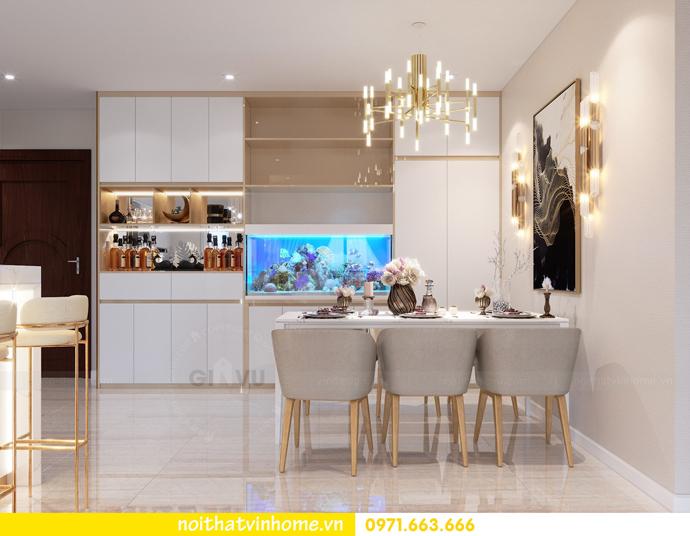 thiết kế nội thất căn hộ chung cư DCapitale tòa C3 04 nhà anh Hoài 1