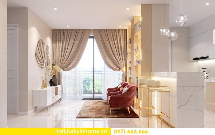 thiết kế nội thất căn hộ chung cư DCapitale tòa C3 04 nhà anh Hoài 3