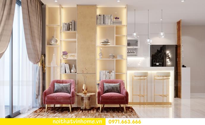 thiết kế nội thất căn hộ chung cư DCapitale tòa C3 04 nhà anh Hoài 5