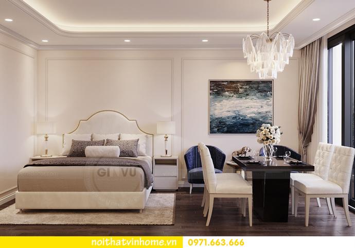 thiết kế nội thất căn hộ soho tại Vinhomes D Capitale 01