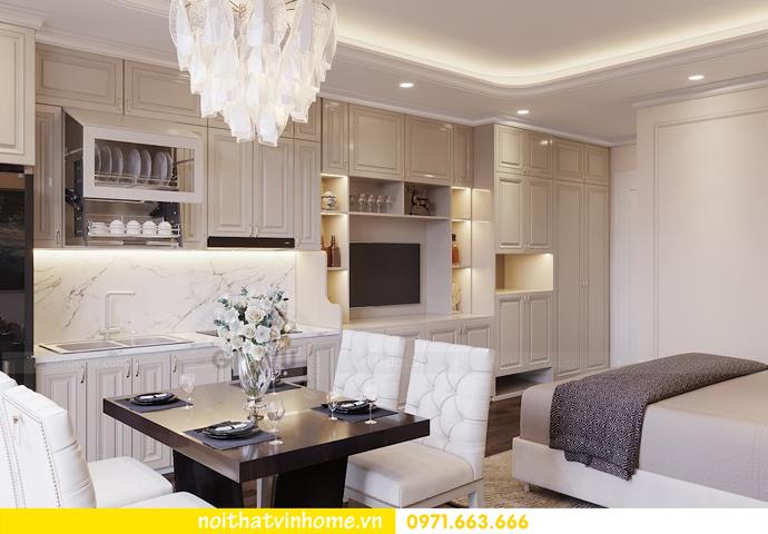 thiết kế nội thất căn hộ soho tại Vinhomes D Capitale 03