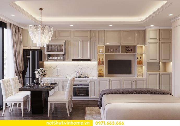 thiết kế nội thất căn hộ soho tại Vinhomes D Capitale 04