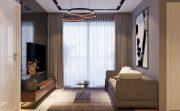 thiết kế nội thất chung cư 2 phòng ngủ nhà chị Thắm