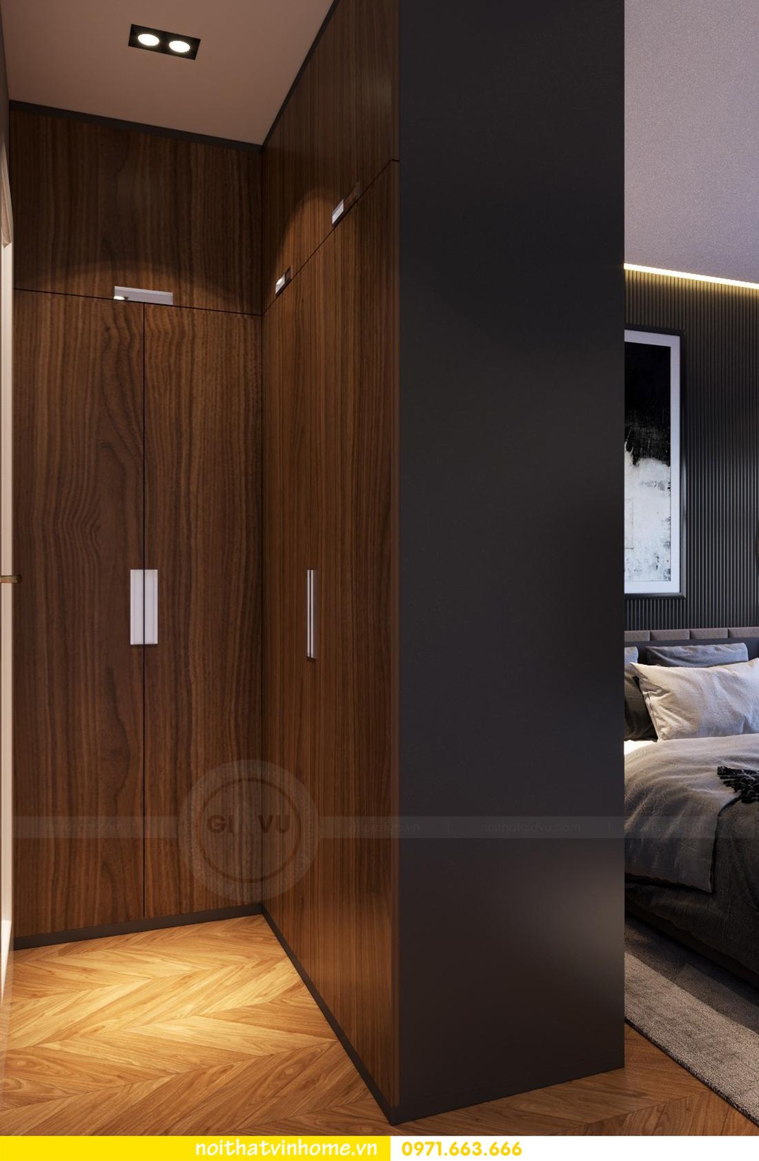 thiết kế nội thất chung cư 2 phòng ngủ tòa C3 căn 07 nhà chị Thắm 05