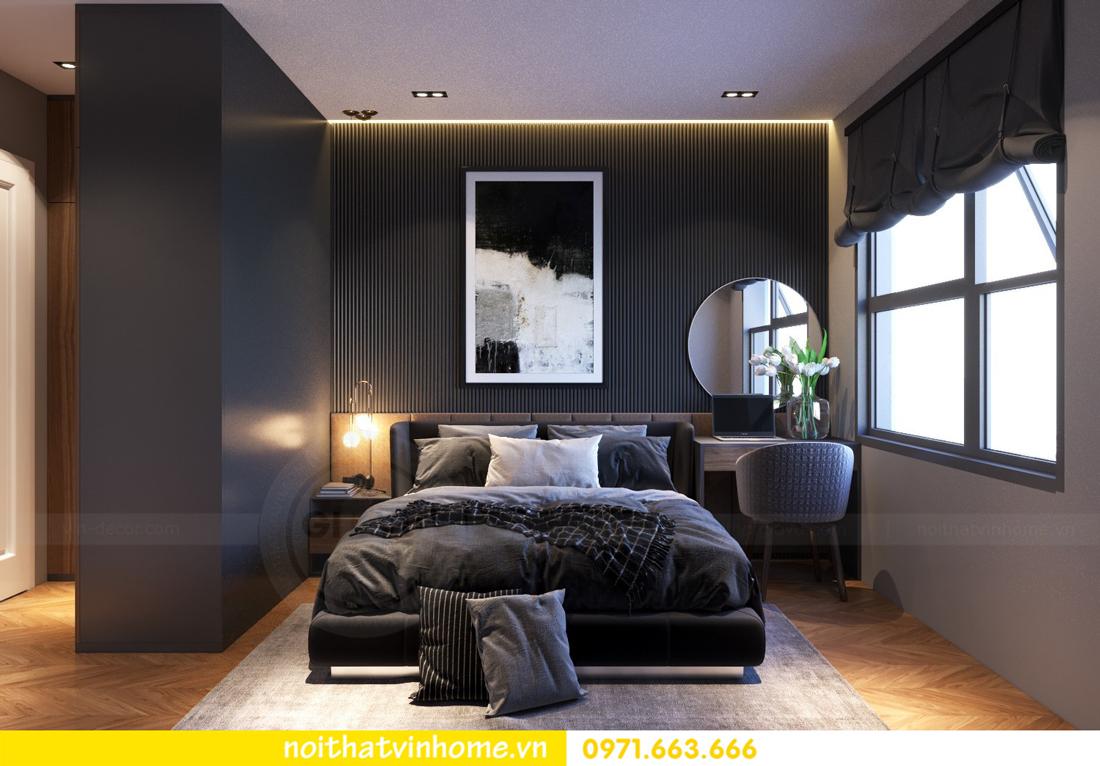 thiết kế nội thất chung cư 2 phòng ngủ tòa C3 căn 07 nhà chị Thắm 06