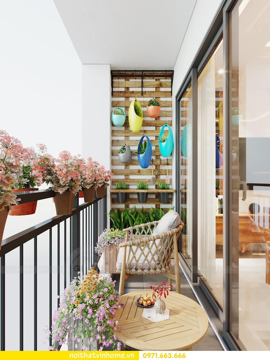 thiết kế nội thất chung cư DCapitale tòa C7 căn 09 Mrs Dương gỗ tự nhiên 08