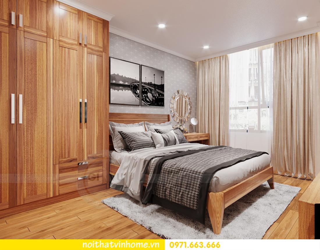 thiết kế nội thất chung cư DCapitale tòa C7 căn 09 Mrs Dương gỗ tự nhiên 09
