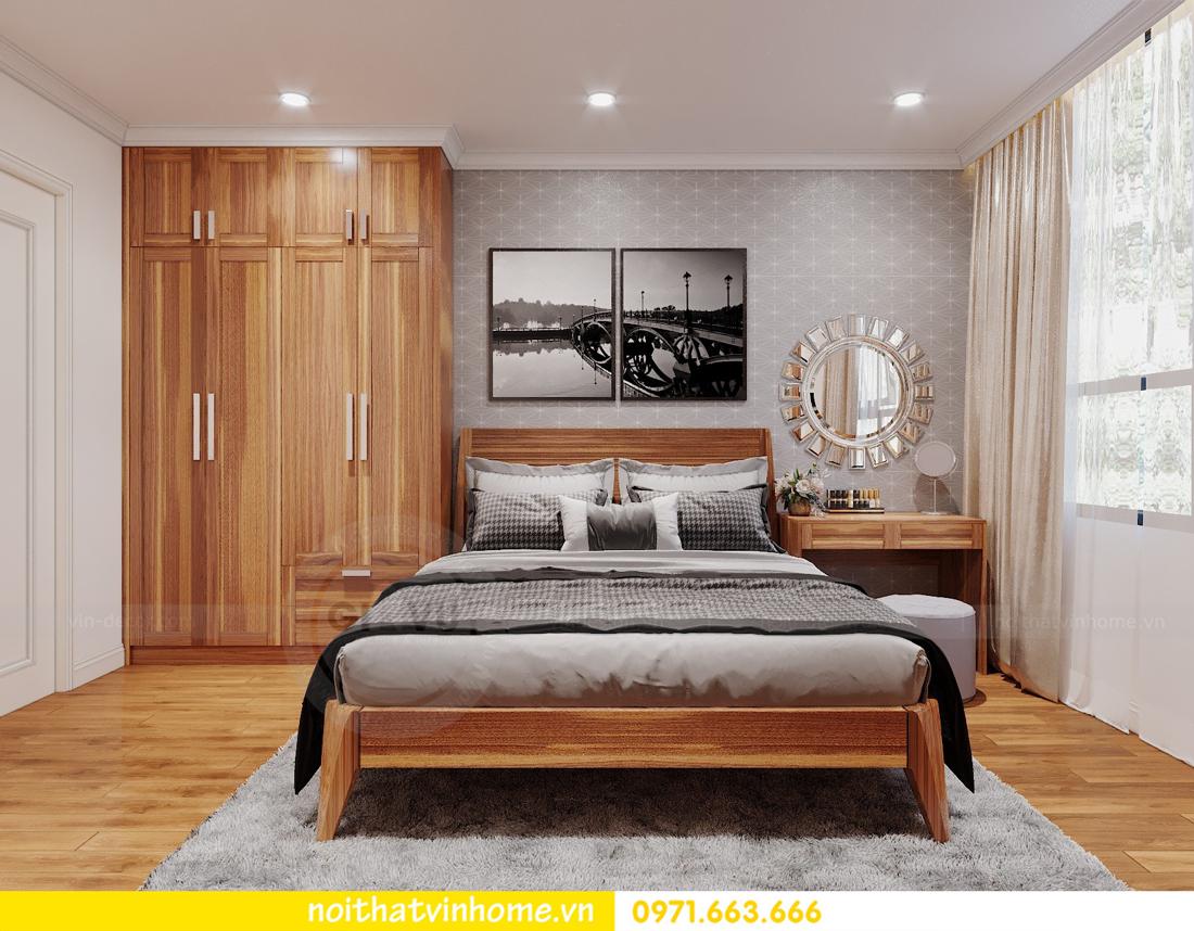 thiết kế nội thất chung cư DCapitale tòa C7 căn 09 Mrs Dương gỗ tự nhiên 10