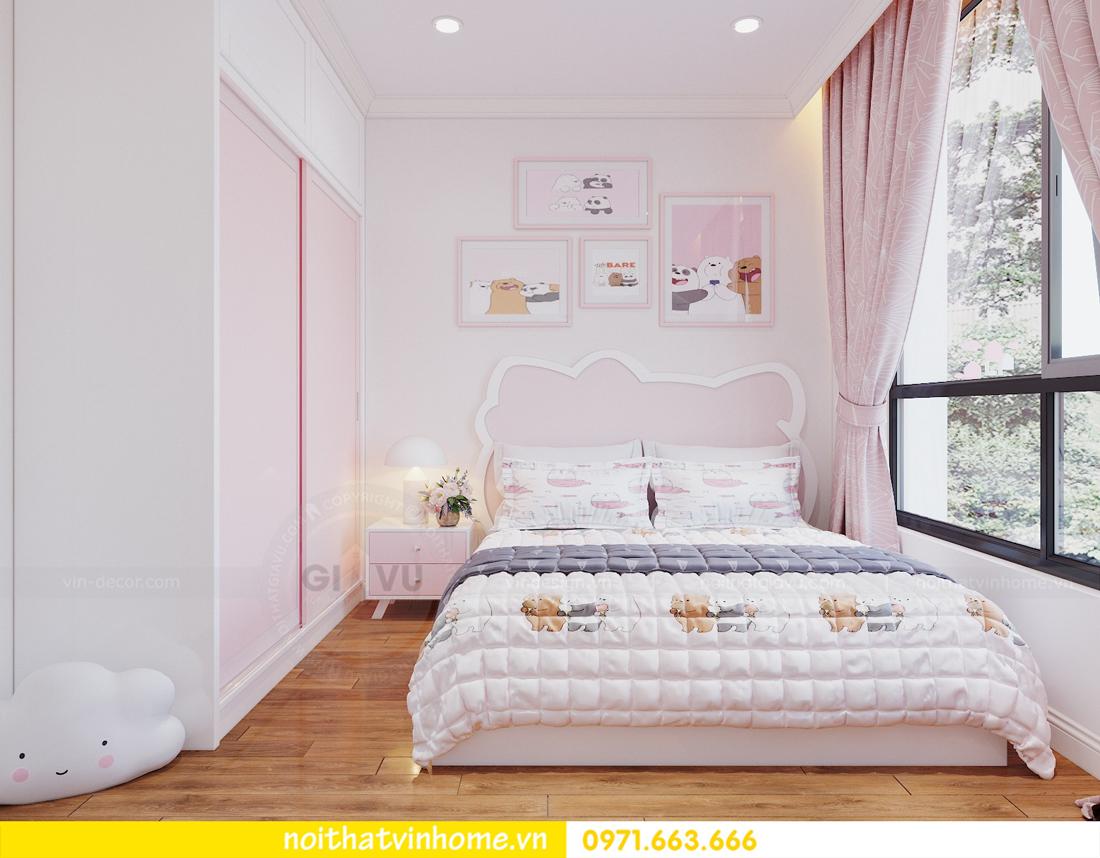 thiết kế nội thất chung cư DCapitale tòa C7 căn 09 Mrs Dương gỗ tự nhiên 13
