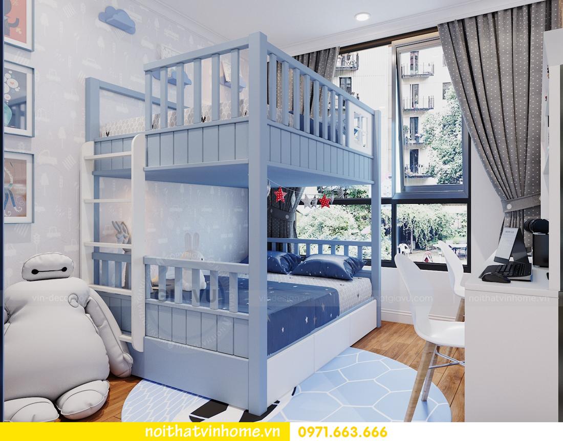 thiết kế nội thất chung cư DCapitale tòa C7 căn 09 Mrs Dương gỗ tự nhiên 15
