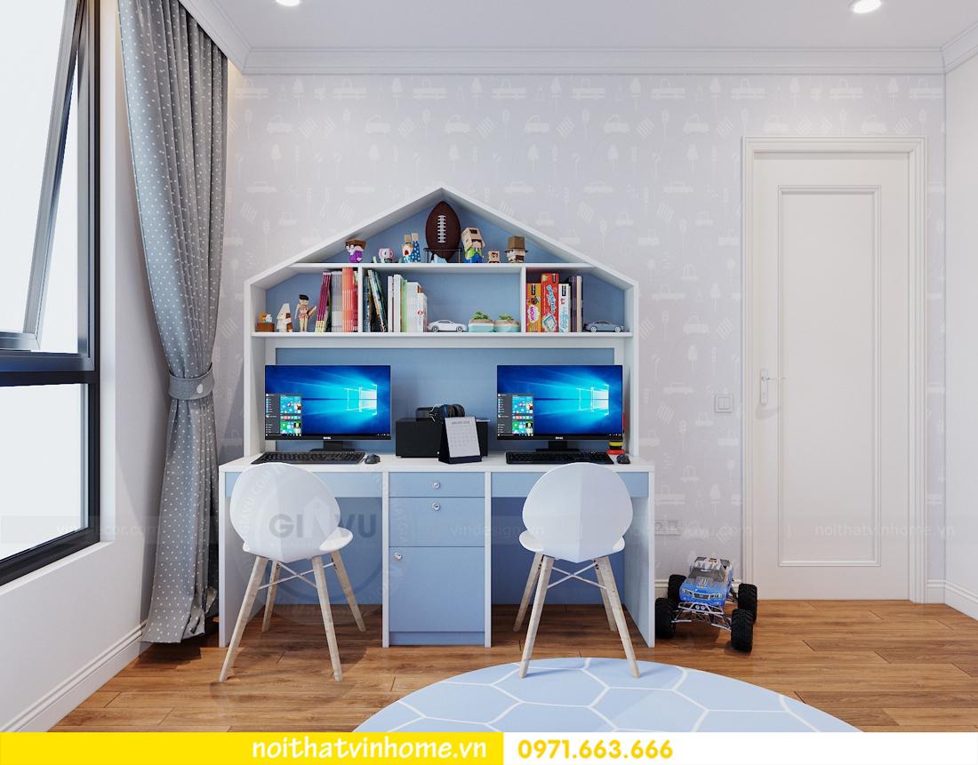 thiết kế nội thất chung cư DCapitale tòa C7 căn 09 Mrs Dương gỗ tự nhiên 17